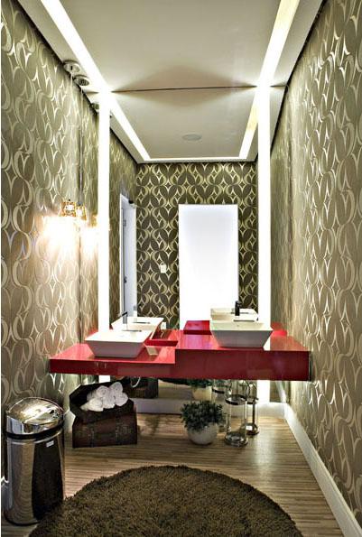 10 sugestões para decorar banheiros e lavabos