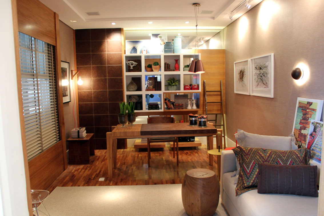 Campinas Decor 2014: Home-office da dona da casa