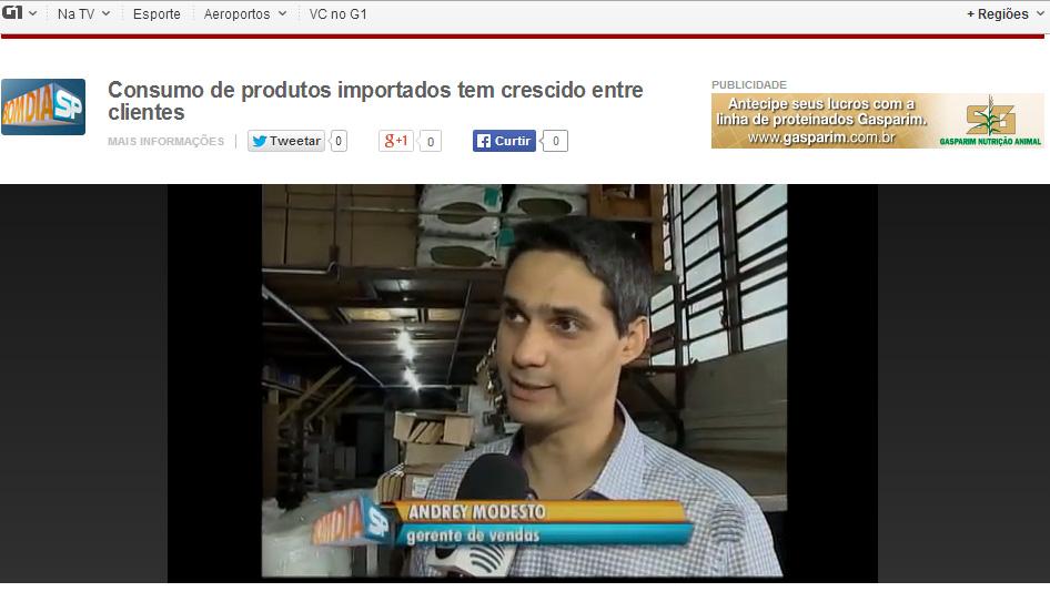 Ateliê de Presidente Prudente no jornal Bom Dia SP