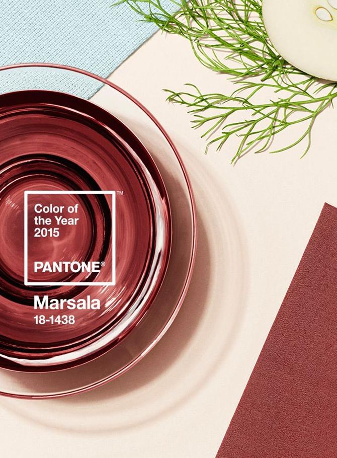 Pantone divulga a cor de 2015: Marsala