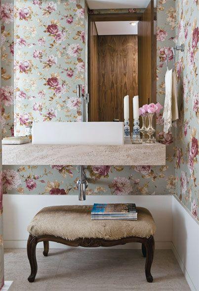 3 revestimentos indispensáveis para um lavabo cheio de personalidade
