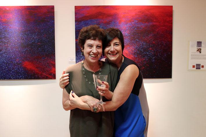 Espaço Arte abre a exposição Pintura Seca, de Silvia Matos