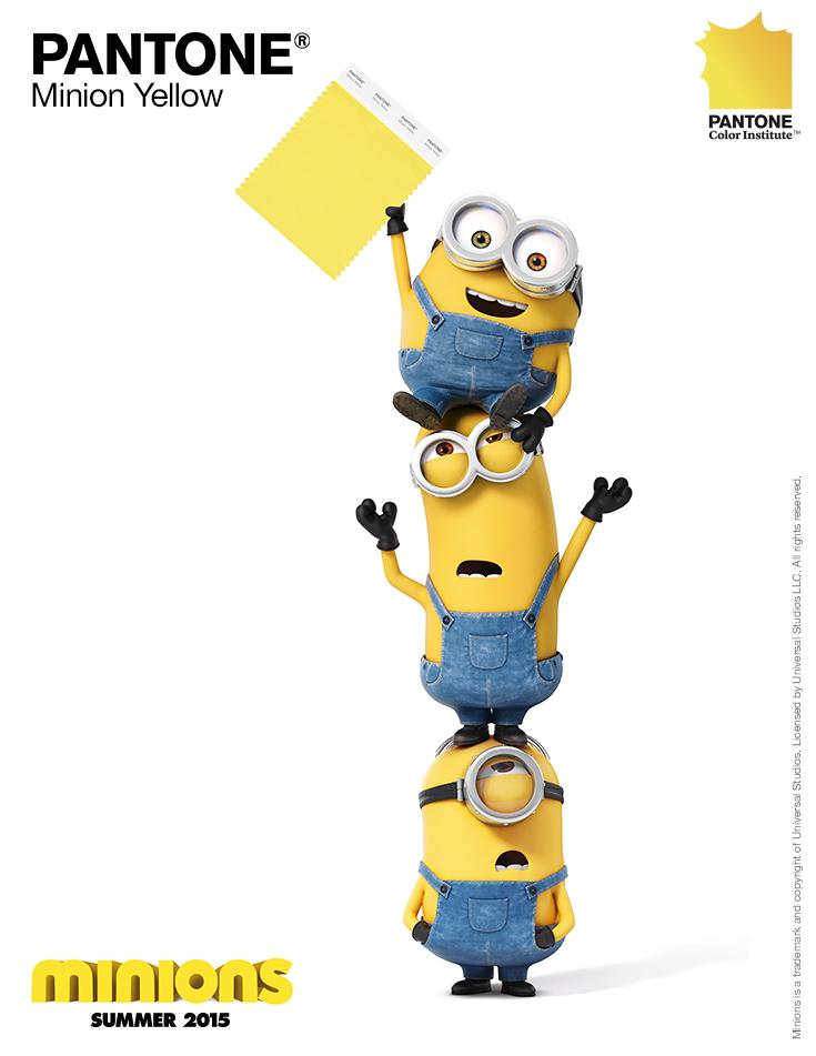 Pantone lança a cor Amarelo Minion para Decoração e Moda