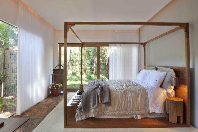 Cortinas para decorar o quarto com estilo