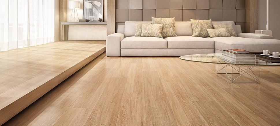 Ideias para decorar a sala de estar com piso laminado for Pisos elegantes para casas