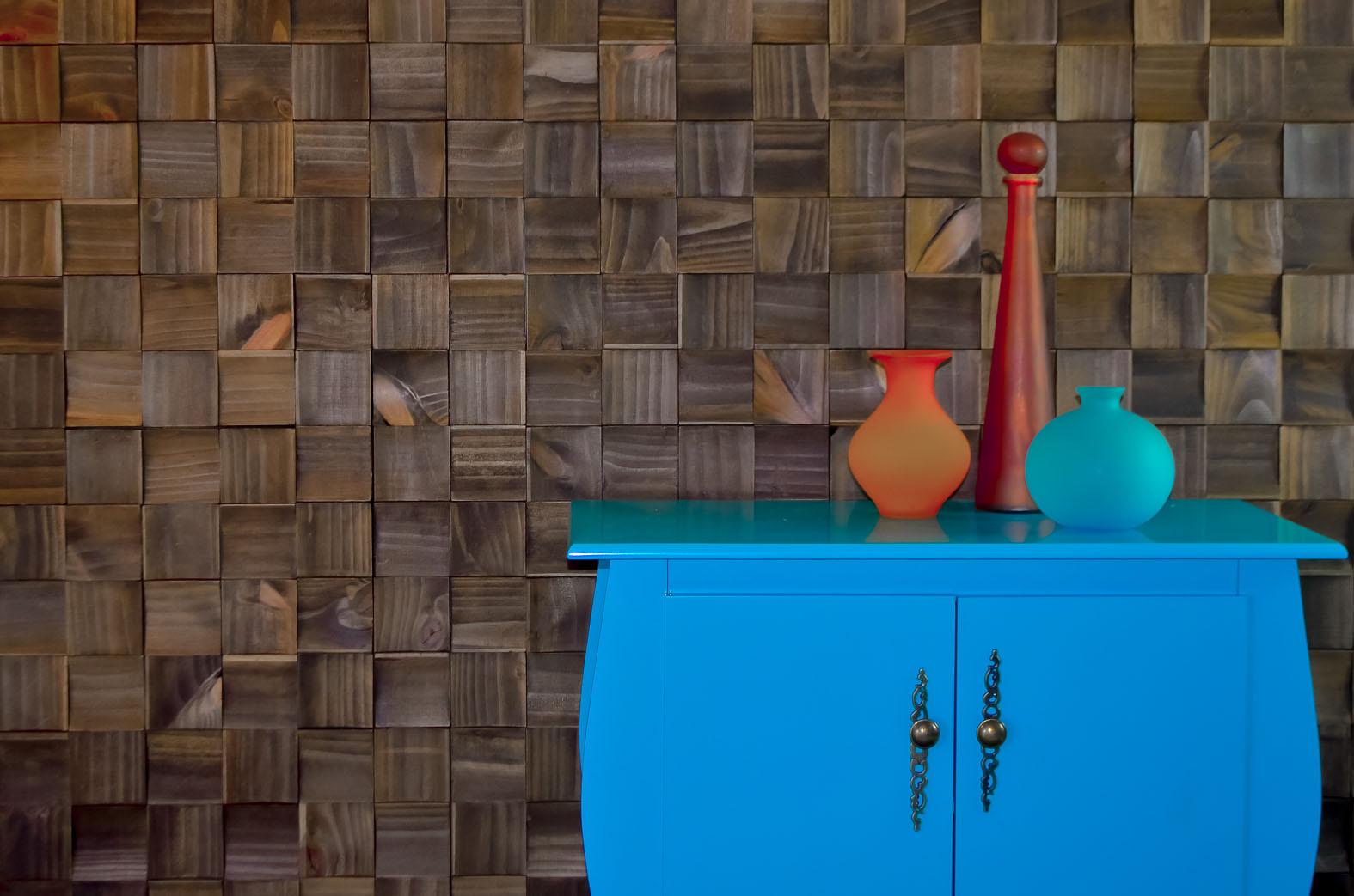 3 maneiras diferentes de revestir a parede com madeira