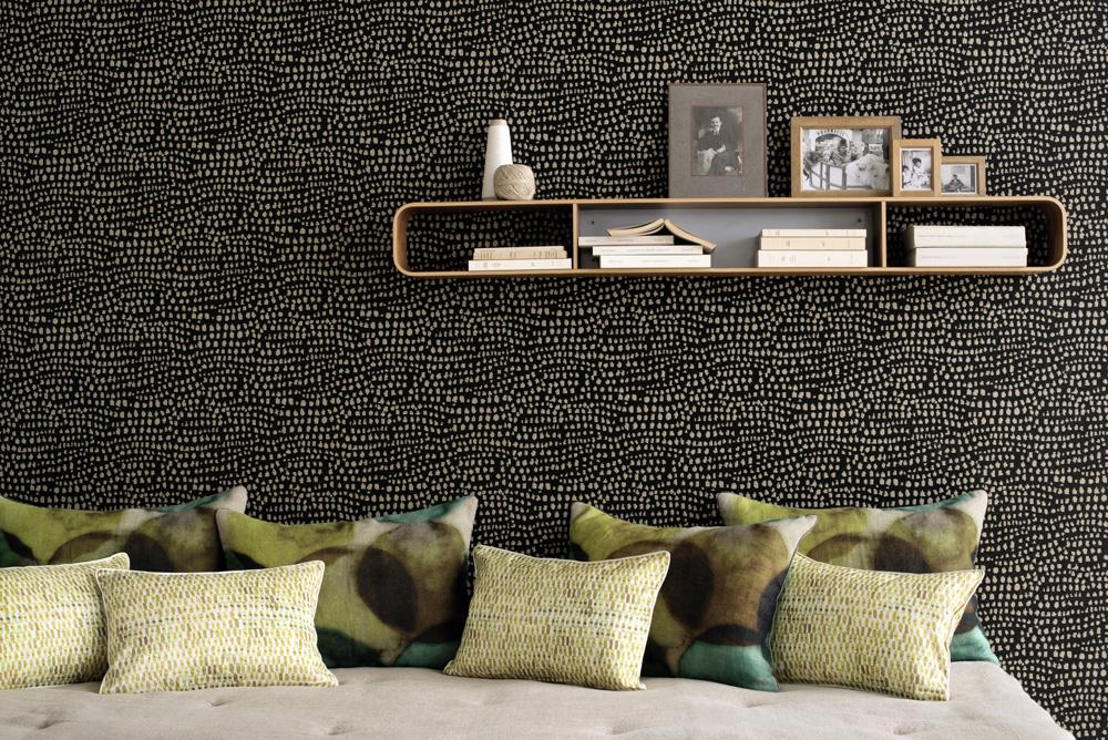 12 ideias para transformar a sala de estar com papel de parede