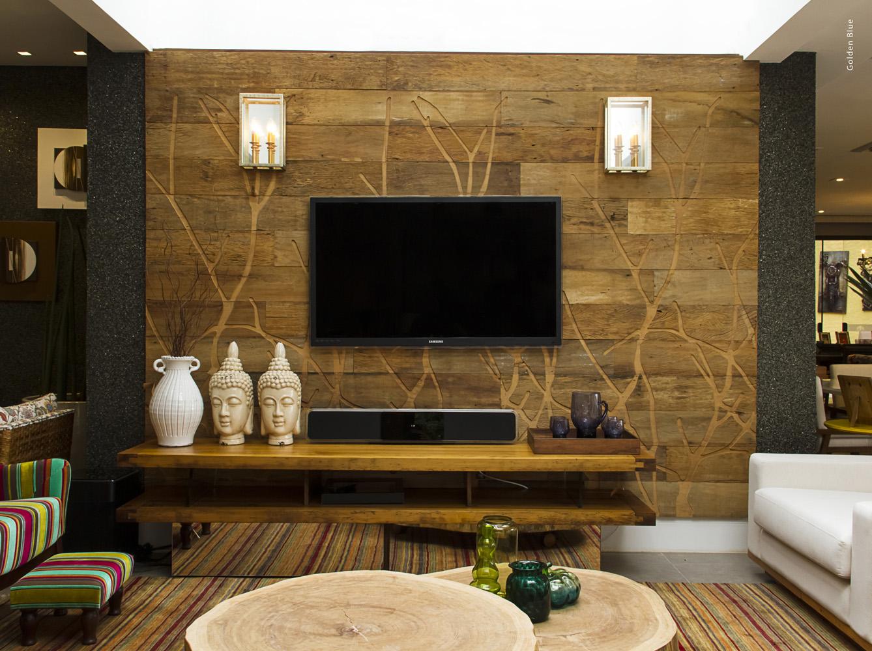 5 opções sofisticadas de painel de TV
