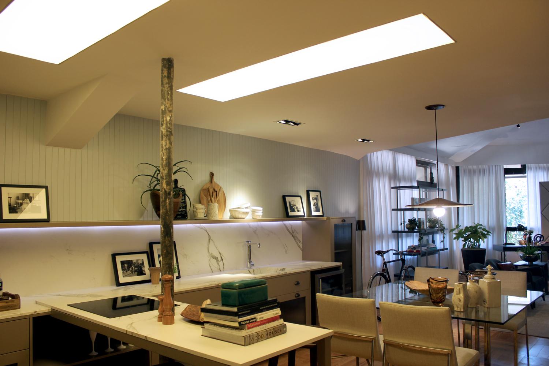 Loft inspirado em Milão conta com produtos do Ateliê Revestimentos