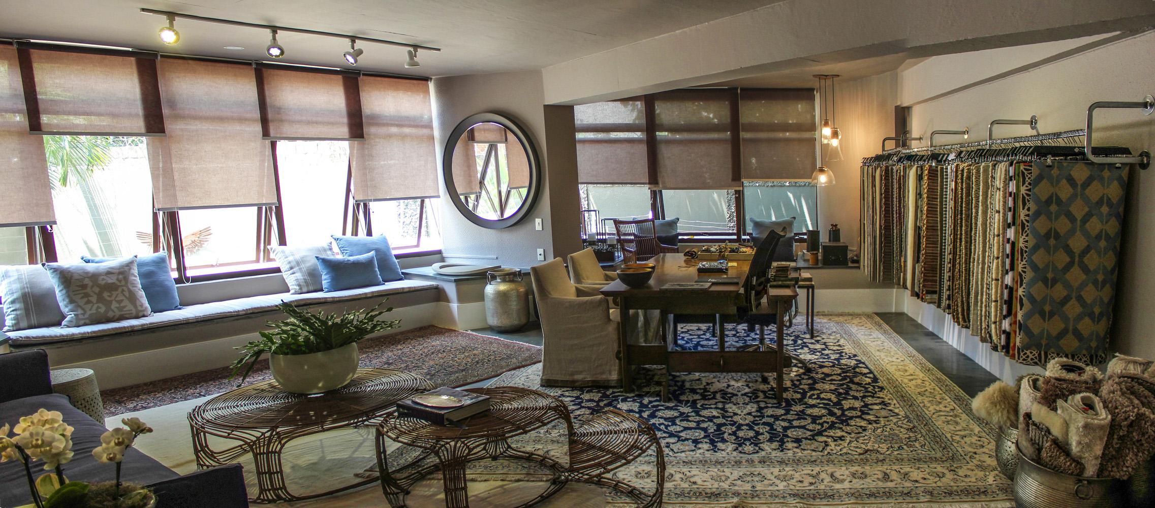 Drywall e rodapé alto para Lounge Office inspirado em Istambul