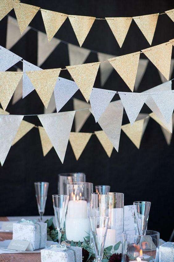 Ideias de decoração para celebrar o Ano Novo