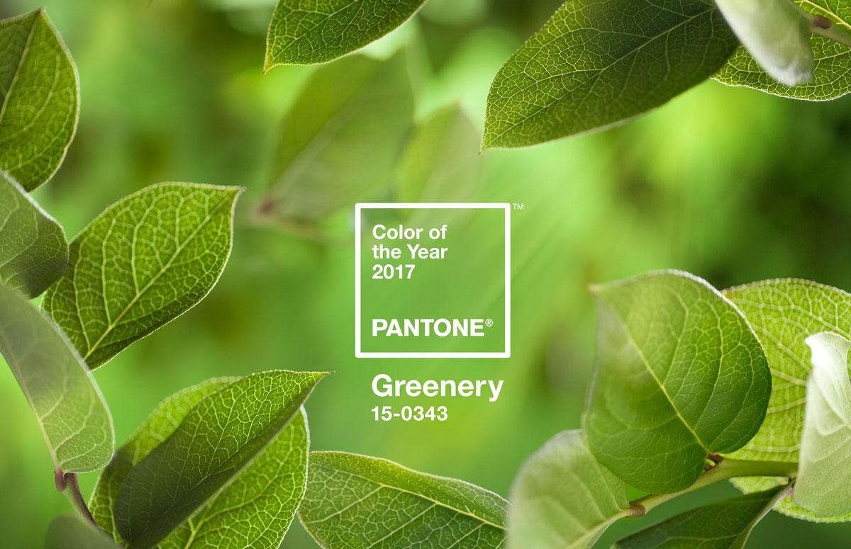 Verde Greenery é a cor de 2017