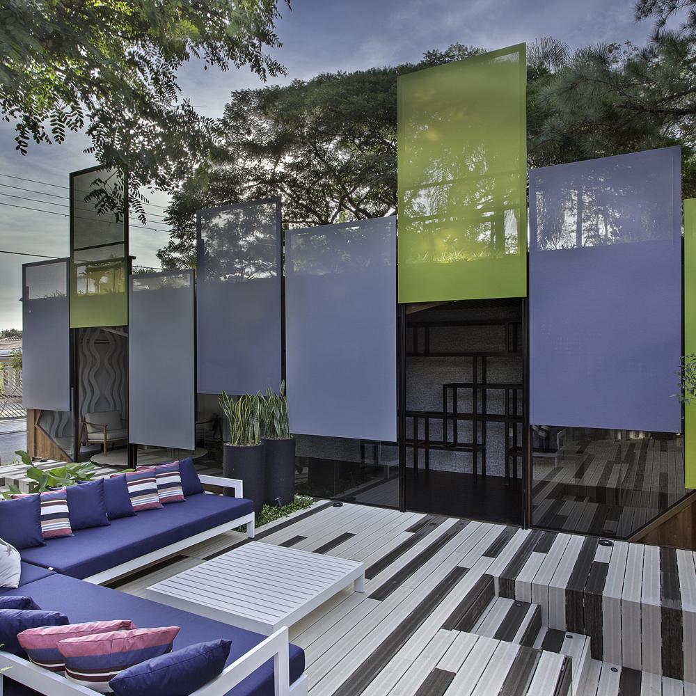 Ateliê e Solução Home apresentam construção com containers na Campinas Decor