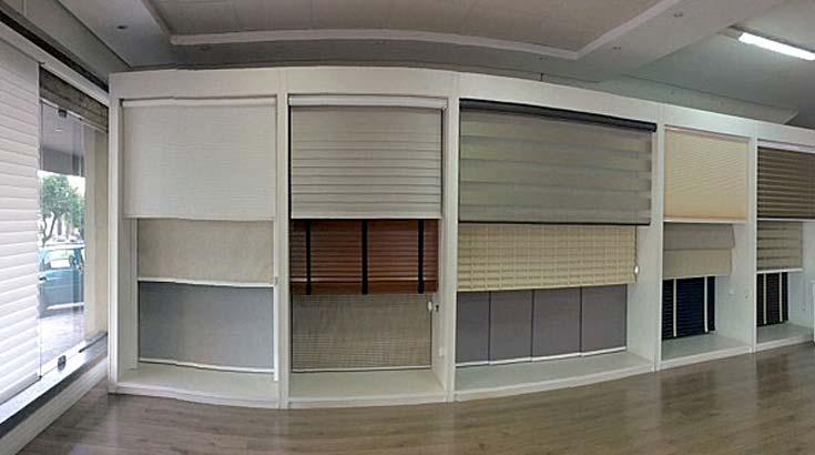 Showroom novinho de cortinas Unilux no Ateliê de Presidente Prudente
