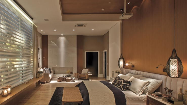7 ideias de revestimentos para decoração de quarto de casal