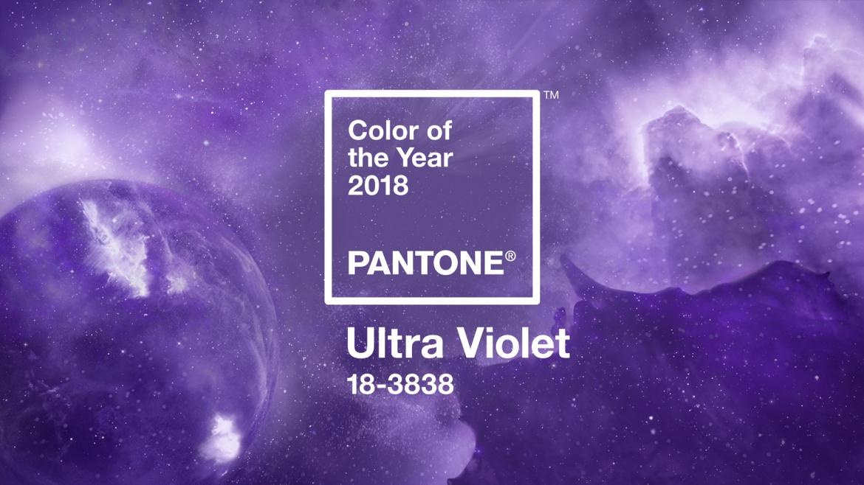 Pantone elege Ultra Violet a cor de 2018