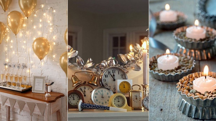 10 ideias criativas de decoração para o Ano Novo