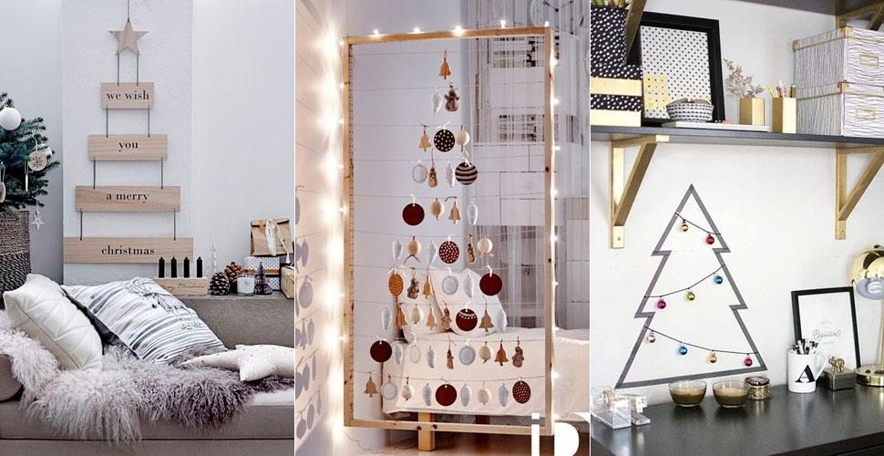 15 ideias criativas para uma árvore de Natal não convencional