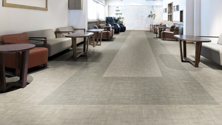 Lançamento: Linha Flourish de mantas vinílicas aposta em padrões têxteis