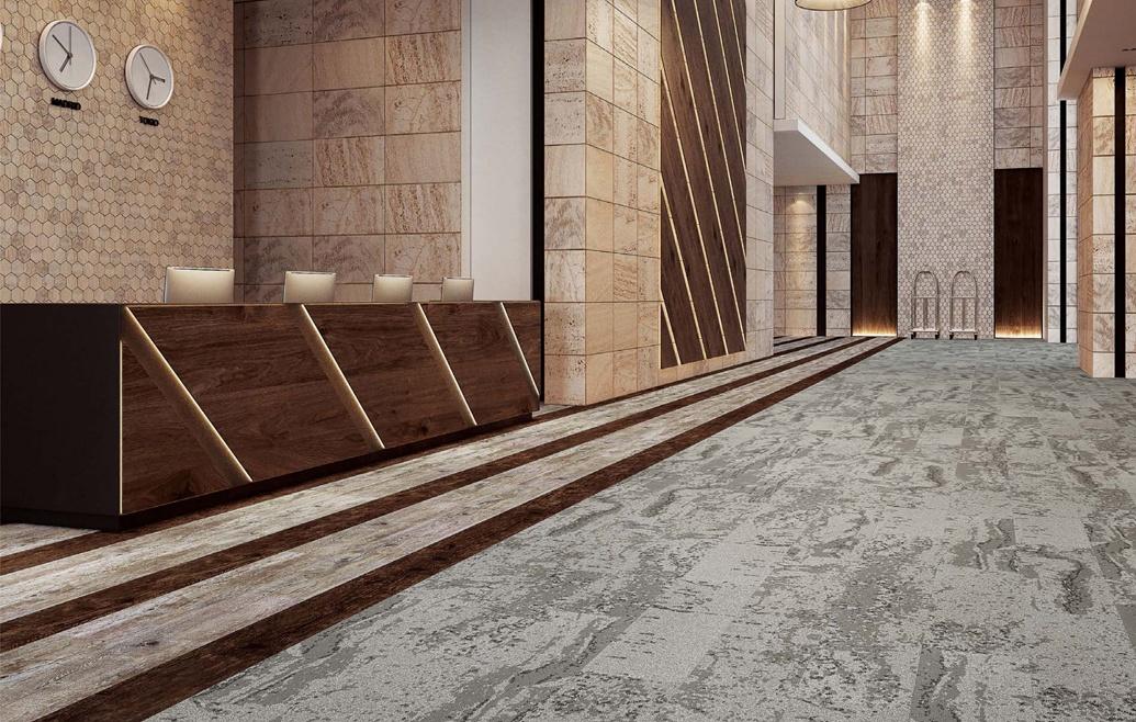 Beaulieu lança coleção de carpetes inspirados nos 4 elementos da natureza