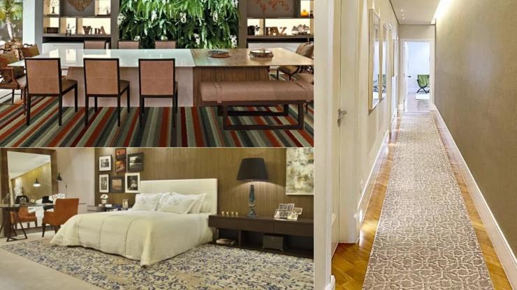 Ateliê Revestimentos de Campinas tem showroom de tapetes personalizados