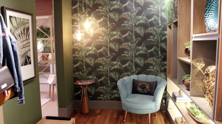Campinas Decor 2018: Hall, Lavabo e Galeria