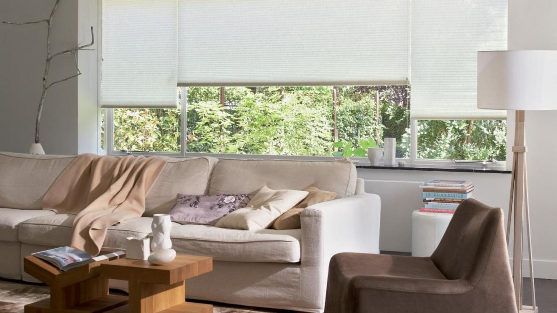 A cortina ideal para a sala