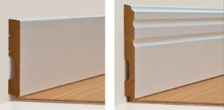 Rodapé Composit 160 mm (liso) / 200 mm (com friso) – Eucafloor