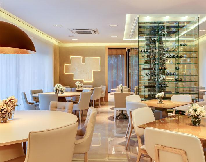 Restaurante da Casa Cor Campinas foi erguido em 67 dias com sistema construtivo moderno