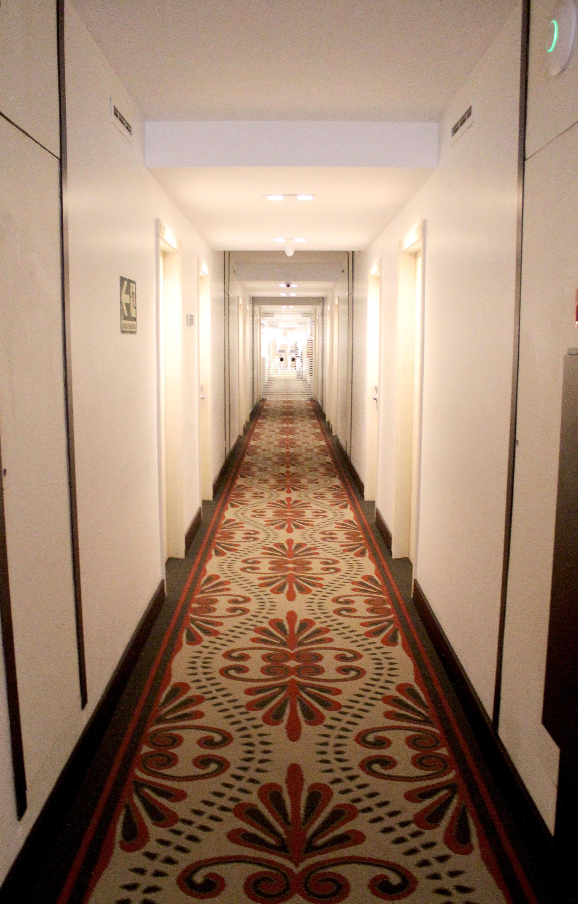 Carpete exclusivo para hotel de Campinas