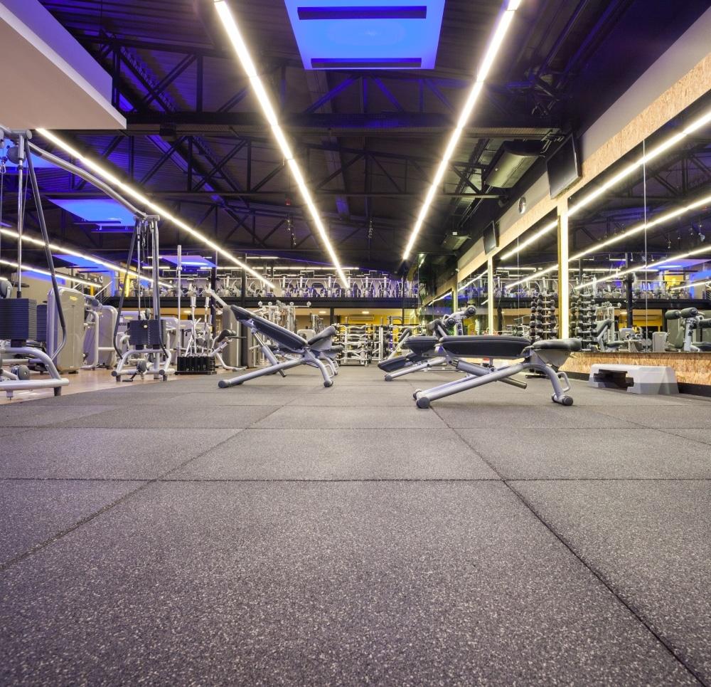 Ateliê Revestimentos conta com pisos para absorção de impacto