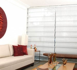 Romanas Wave Luxaflex – Persianas e Cortinas – Hunter Douglas