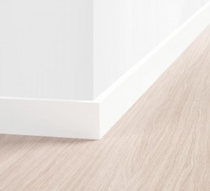 Rodapé Border Branco 8 cm – Quick Step
