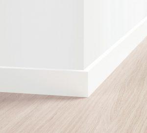Rodapé Border Branco 8 cm – Quick Step